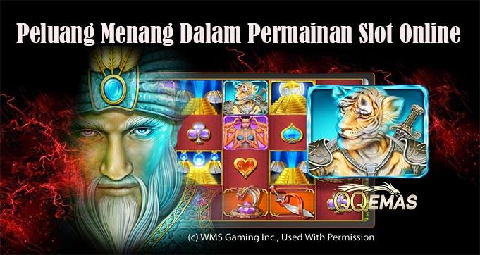 Peluang Menang Dalam Permainan Slot Online
